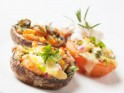 New Year's Party Snack Recipe # 8: Crab and lobster stuffed mushrooms