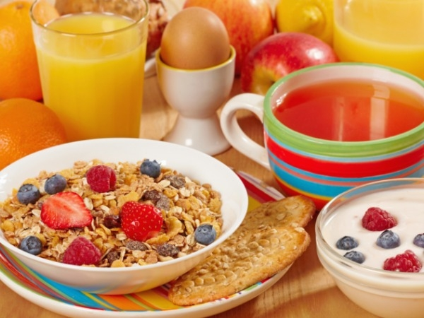 Have a good healthy breakfast