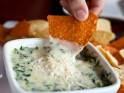 New Year's Party Snack Recipe # 10: Roasted corn and crap dip