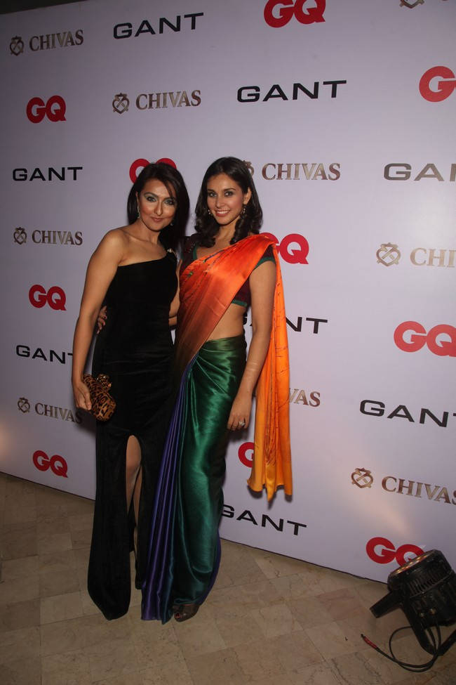 Shabnam Singhal and Lisa Ray