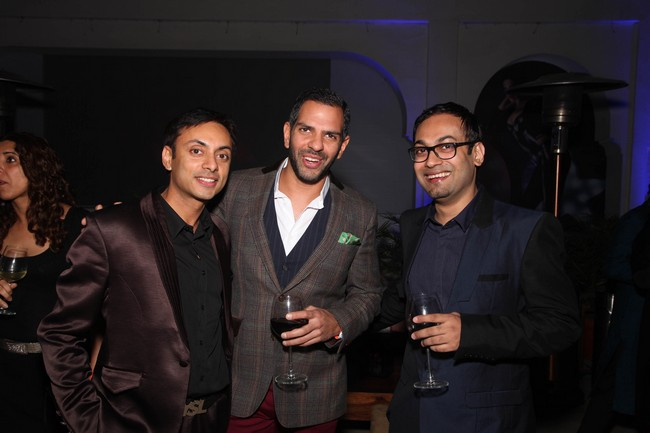 Vikram Baidyanath, Sanjay Kapur and Che Kurrien Editor GQ India