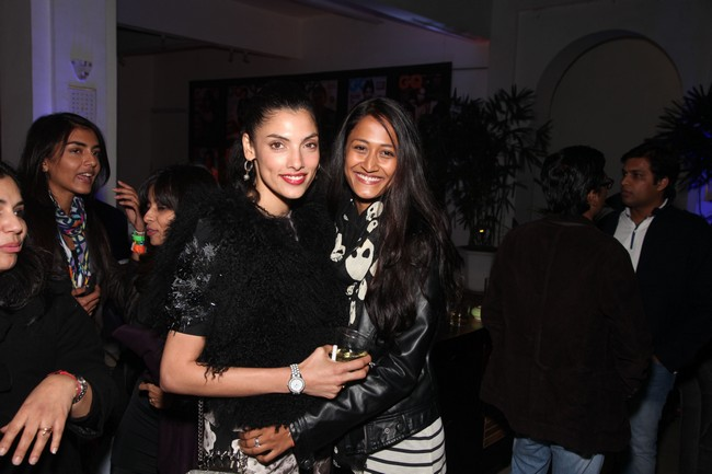 Indrani Dasgupta and Surelee Joseph