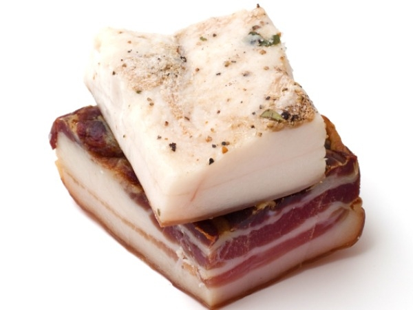 Salo – Eating lard or fat will clog the heart, but in Ukraine and other European coutries pig fat is a traditional food. In Eastern Europe, this greasy slab of fat is spiced with different condiments and in southern Europe it is smoked. I guess you have