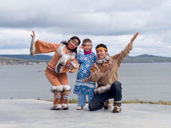 Inuits of Greenland – Walrus, seal, polar bear, whale, muskoxen may be found around the Artic Ocean, but they are also found on the plates of the Inuits. Let's not get judgmental right away, you can't grow vegetables on ice nor is it possible to sta
