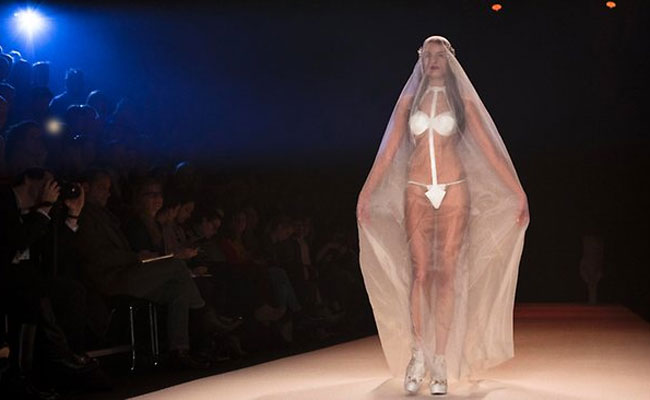G-string gown