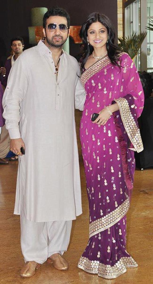 Raj Kundra and Shamita Shetty