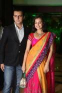 Dia Mirza with boyfriend Sahil Sangha