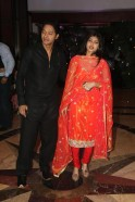 Shreyas Talpade with wife