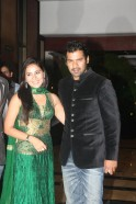 Shabbir Ahluwalia with wife Kanchi Kaul