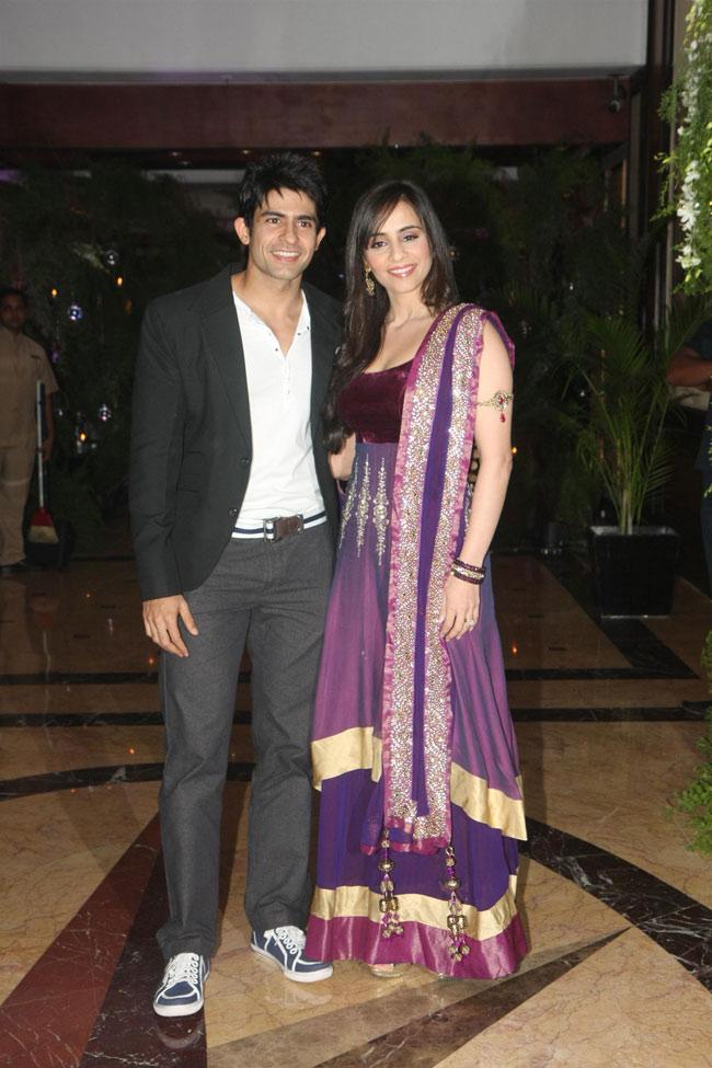 Hussain Kuwajerwala with wife Tina