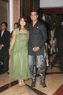 Sharad Kelkar with wife Keerti Gaekwad