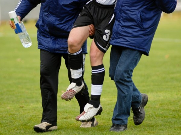 For sports injury cases: