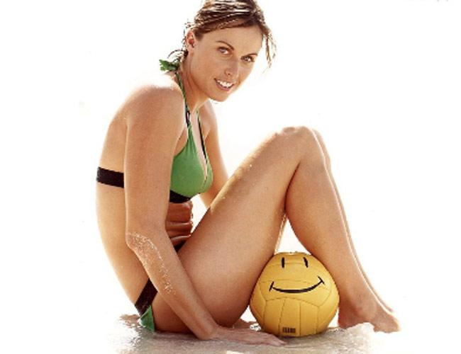 Swimmer Amanda Beard
