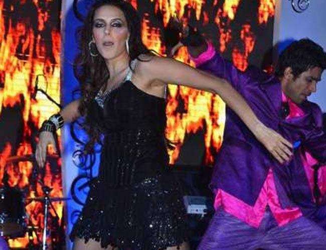 Stars perform at New Year