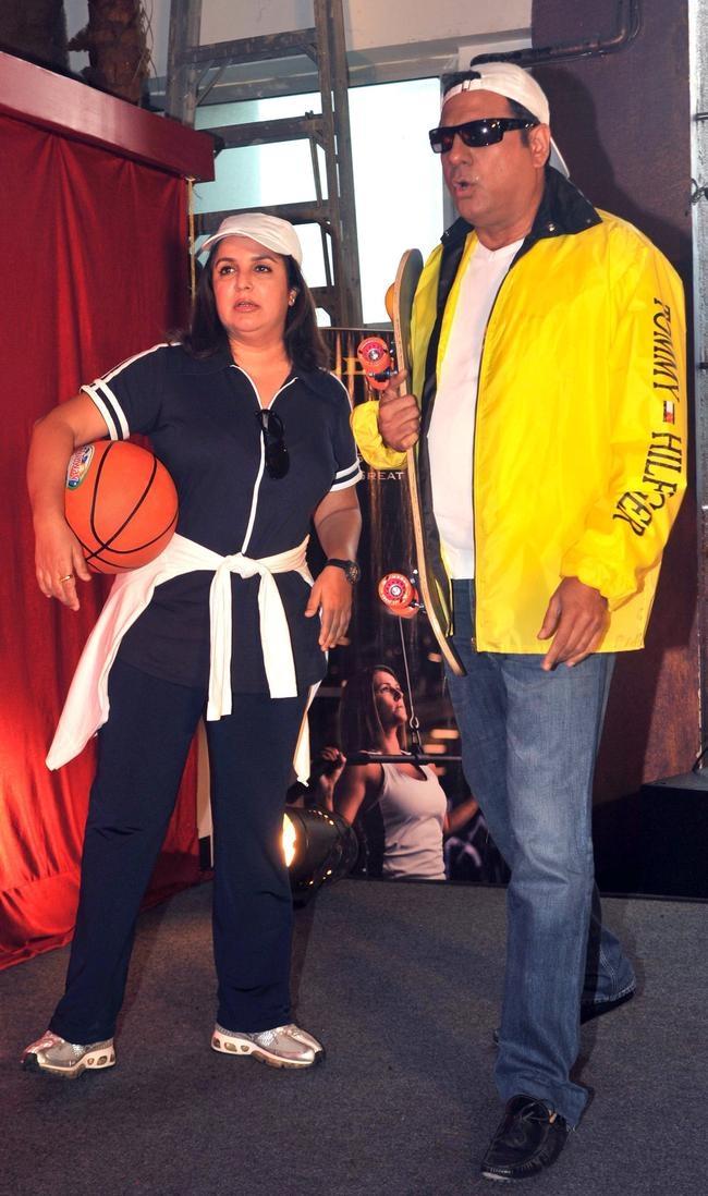 Farah Khan and Boman Irani
