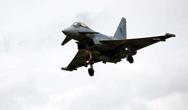 A Typhoon aircraft