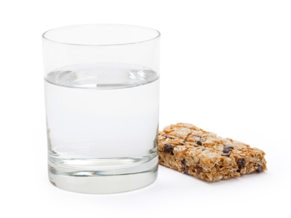Can nutritional bars replace a meal?