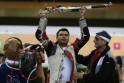 Gagan Narang jubilates with his coach