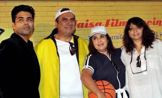 Karan, Boman and Farah