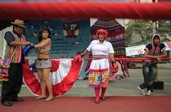 Olympic spirit in Peru