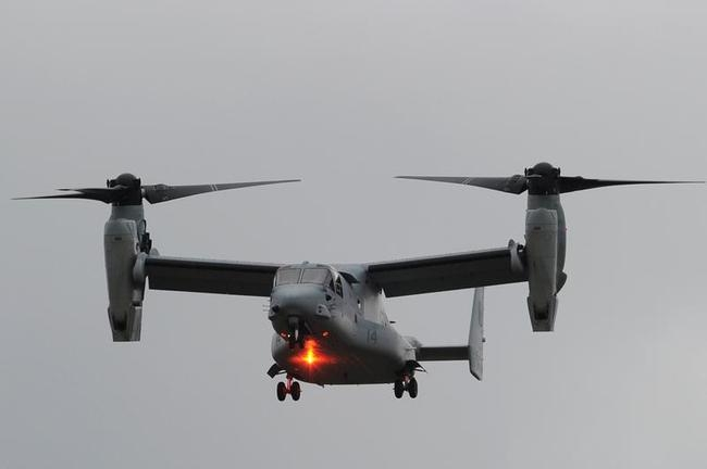 A Bell Boeing V-22 Osprey