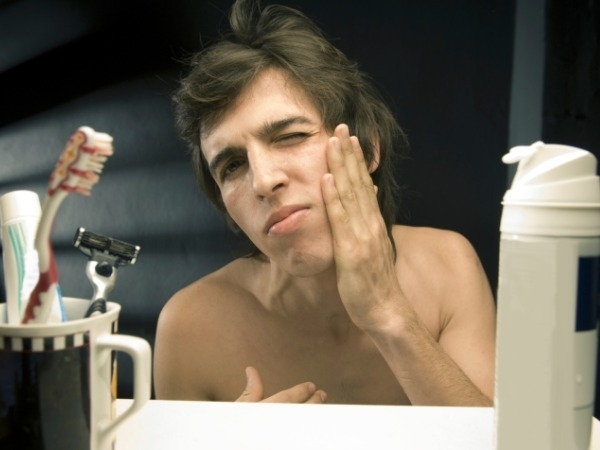 Cuts while shaving: