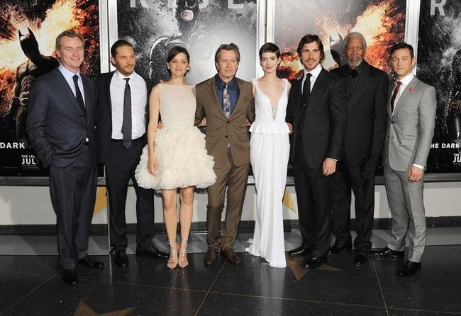"""The Dark Knight Rises"" New York Premiere"