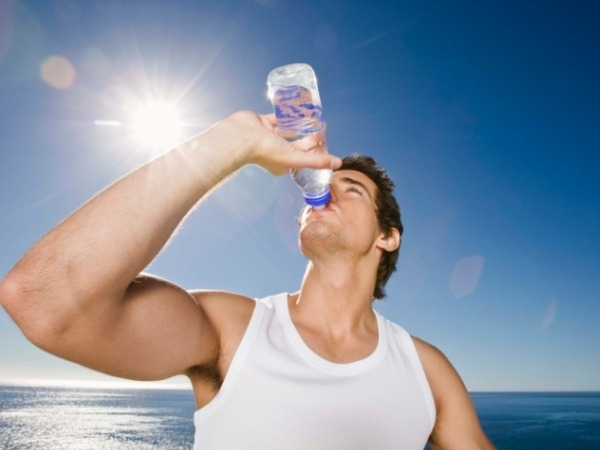 How much water should I drink during a workout?