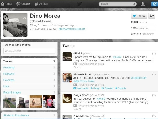 Dino Morea: