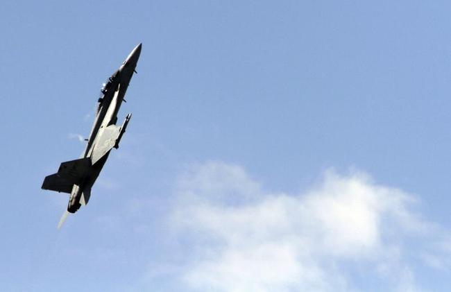 An F/A-18