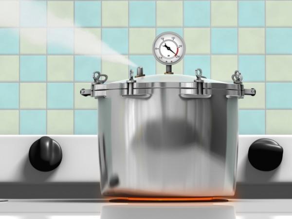 Pressure cooking: