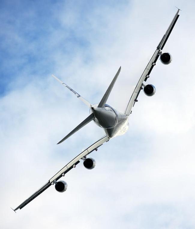 A Malaysian Airways Airbus A380