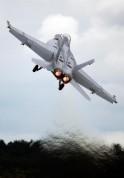 An F-18