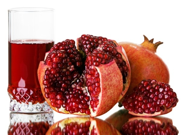 Pomegranate acts like an Oxygen Mask