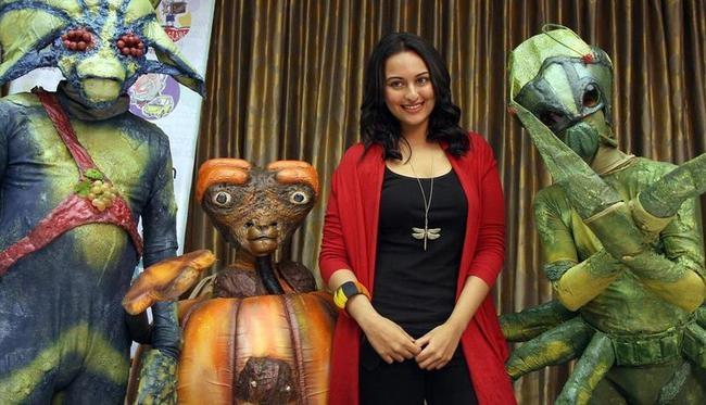 Indian Bollywood actress Sonakshi Sinha