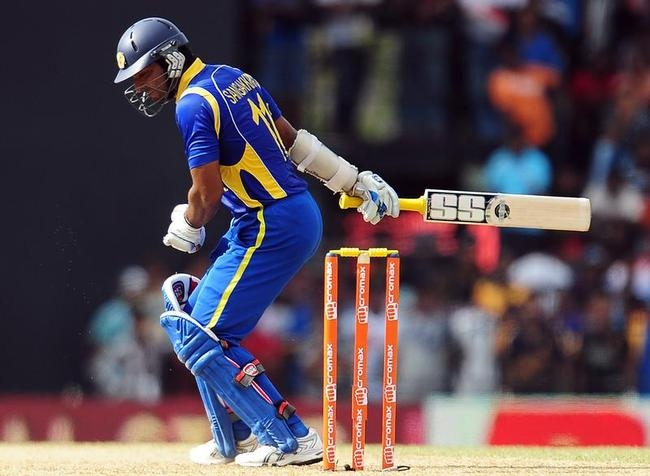 Sri Lankan cricketer Kumar Sangakkara re