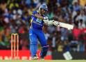 Sri Lankan cricketer Jeevan Mendis plays