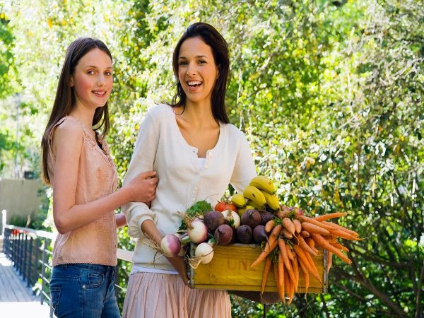 Fresh vegetables are better than frozen veggies.