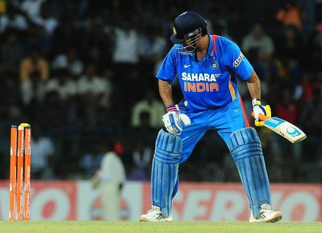 Indian cricket captain Mahendra Singh Dh