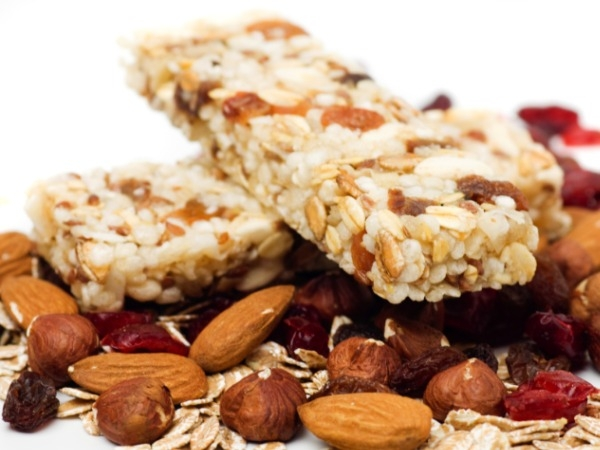 Go Bars With Nuts: