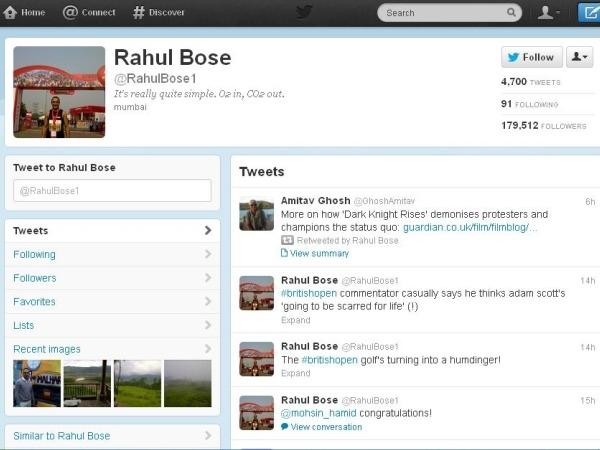 Rahul Bose: