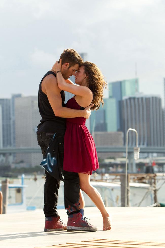 Kathryn McCormick and Ryan Guzman