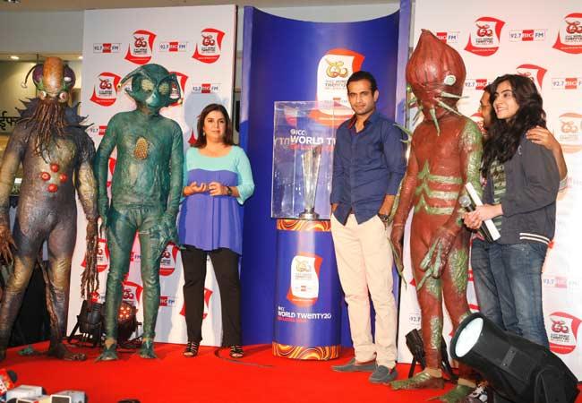 ICC World Twenty 20 Trophy unveiled