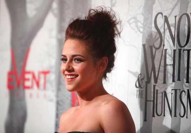 Kristen Stewart is no. 1 on Forbes