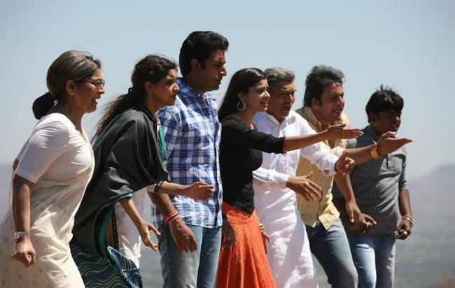 Archana Puran Singh, Asin, Abhishek Bachchan, Prachi Desai and Krushna Abhishek
