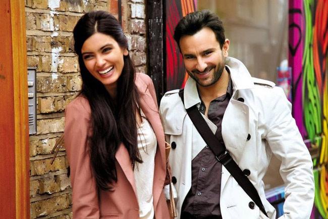 Saif Ali Khan, Diana Penty