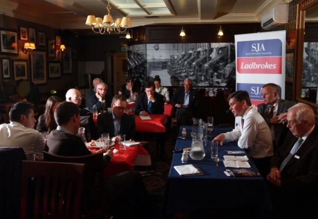 SJA Media Lunch - Hugh Robertson