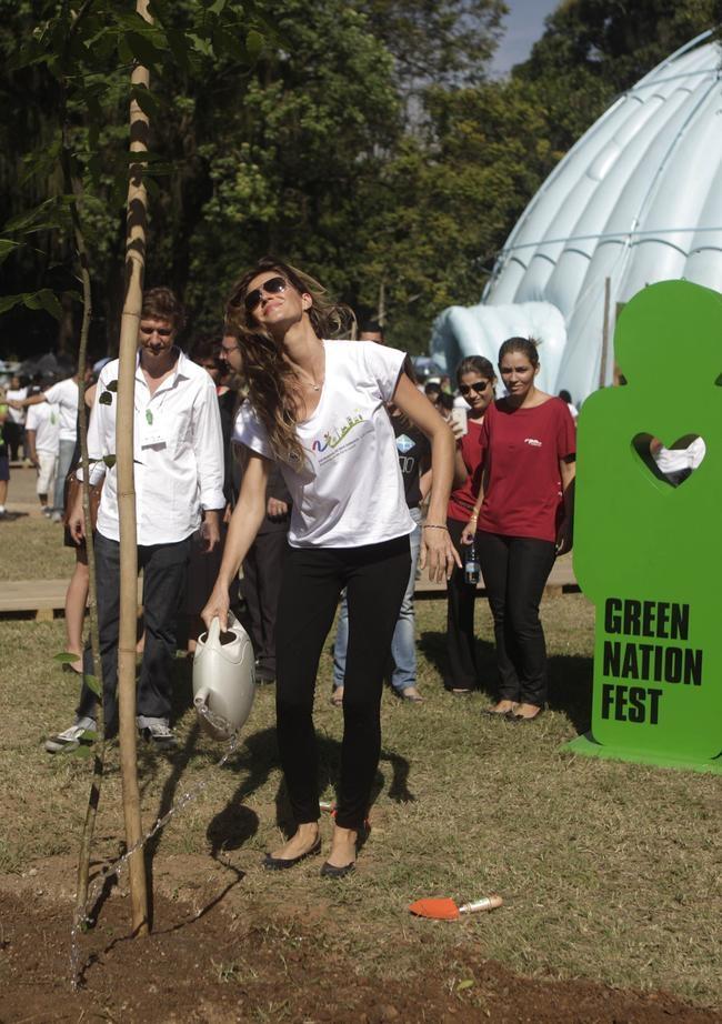 Gisele Bundchen's green moments