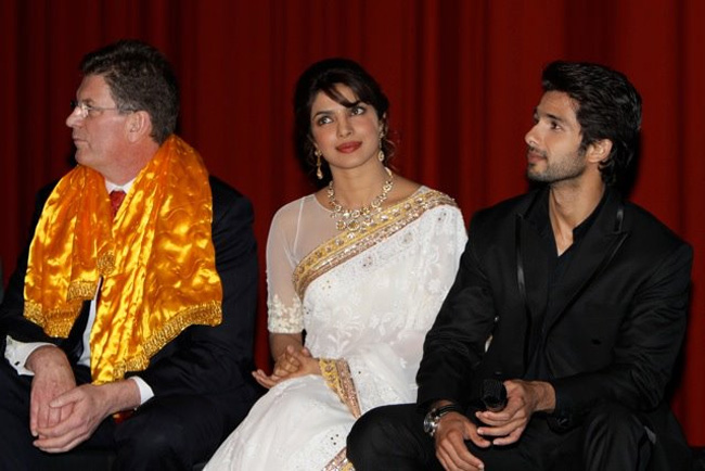 Priyanka and Shahid
