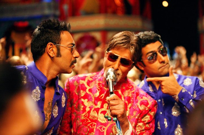 Ajay, Amitabh and Abhishek